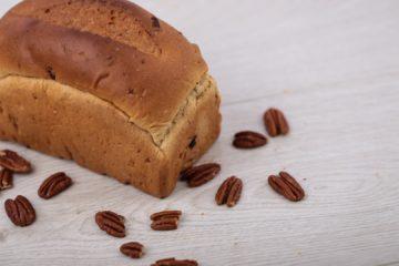 Cinnamon and Pecan Brioche Loaf