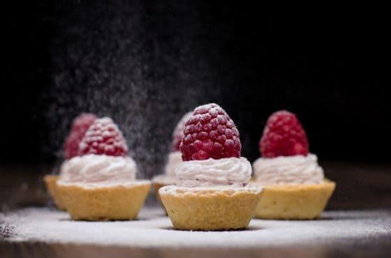 Raspberry Mini Tart