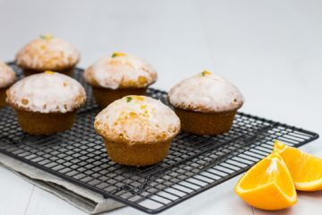 Orange and Lime Brazilian Bun Cakes