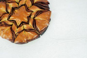 Chocolate and Hazelnut Christmas Star