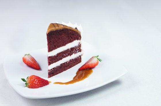 Red Velvet Caramel Cake