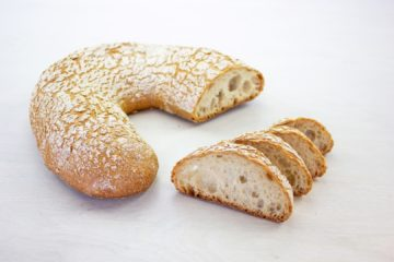Beer Bread with Wheat Sourdough