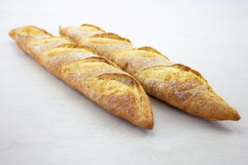 Baguette with Smoked Sourdough
