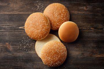 Burger Bun with Durum Sourdough