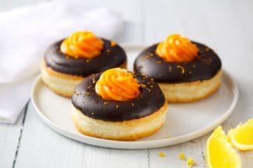 Chocolate Orange Doughnut – Vegan