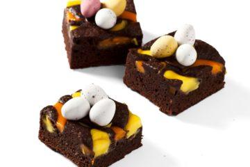 Easter Brownie Slice