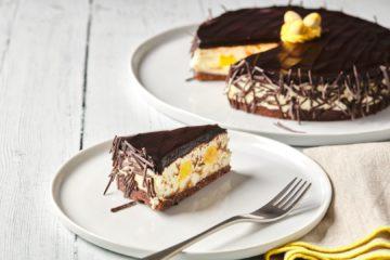Easter Chocolate Lemon Cheesecake