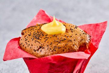 Lemon & Poppy Seed Muffin – Vegan