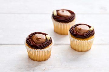Miniature Caramel Cupcakes