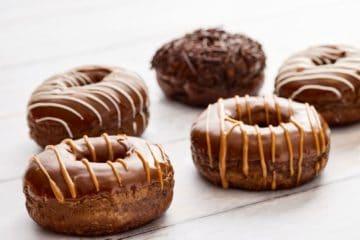 Chocolate Millionaires Doughnut