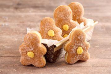 Gingerbread Doughnut Men