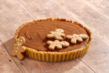 Gingerbread & Amaretto Chocolate Tart